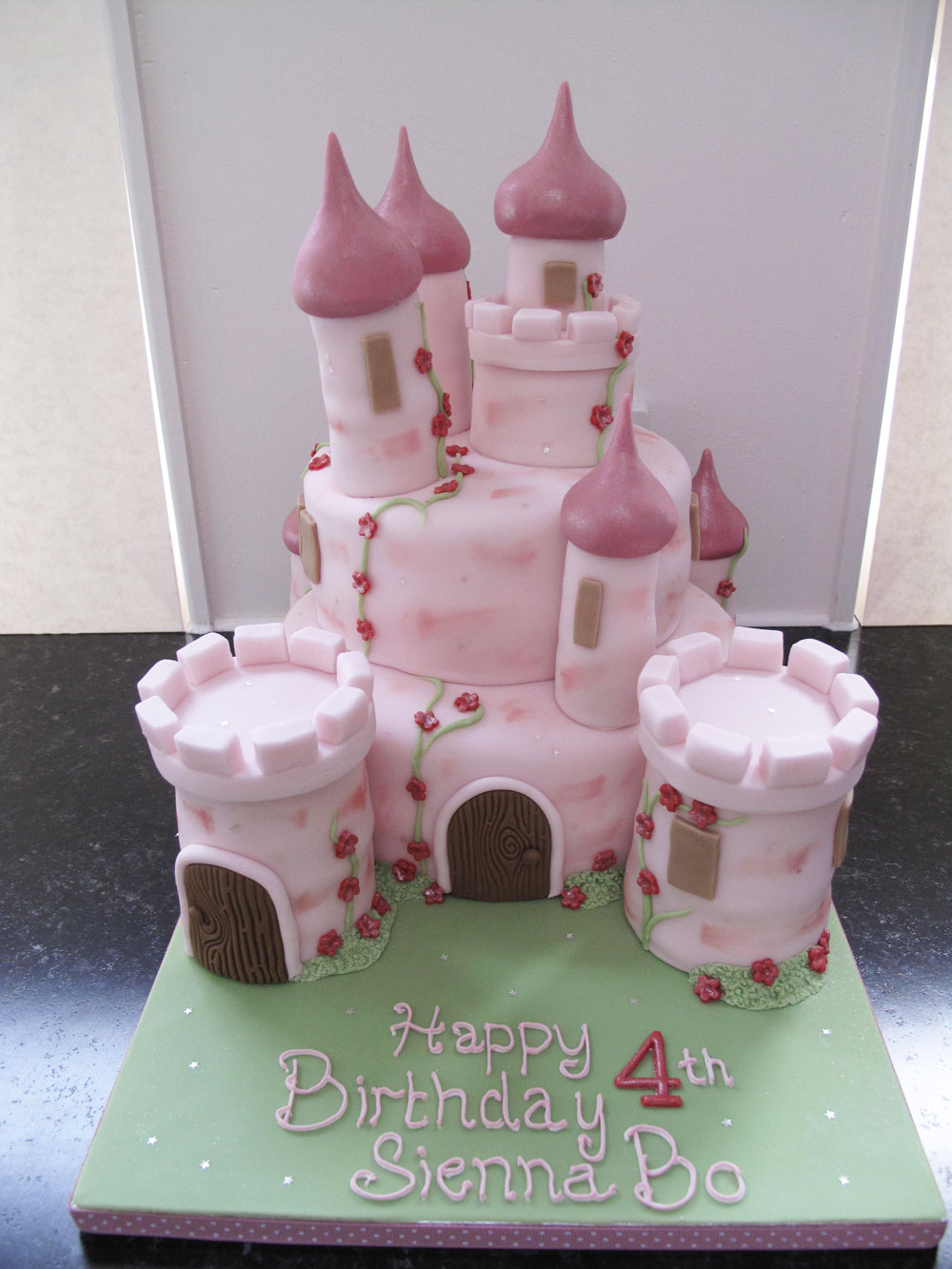 Party Cakes Fairy Castle Cakes For Girls Knights Castle Cakes